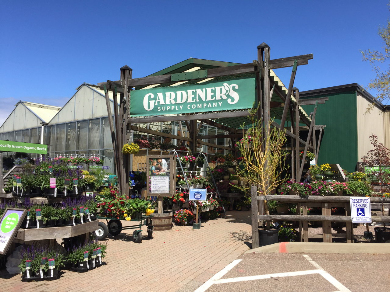 We Want To Extend A Special THANK YOU To Pat Pearsall At Gardeneru0027s Supply  For His Help In The Fall Event Planning.